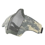 DRAGONPRO DP-FM006-008 FAST Helmet Tactical Foldable Facemask ACU