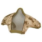 DRAGONPRO DP-FM006-023 FAST Helmet Tactical Foldable Facemask AOR1