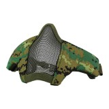 DRAGONPRO DP-FM006-024 FAST Helmet Tactical Foldable Facemask AOR2