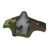 DRAGONPRO DP-FM006-007 FAST Helmet Tactical Foldable Facemask WL