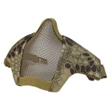 DRAGONPRO DP-FM006-018 FAST Helmet Tactical Foldable Facemask HI