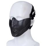 DRAGONPRO DP-FM007-036 FAST Pilot Mask Carbon Fiber