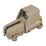 DRAGONPRO EM5013 553 Red & Green Dot Sight Tan