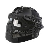 DRAGONPRO DP-HL004-002 Tactical G4 Protection Helmet Black