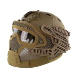 DRAGONPRO DP-HL004-003 Tactical G4 Protection Helmet Tan