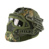 DRAGONPRO DP-HL004-009 Tactical G4 Protection Helmet Woodland Digital