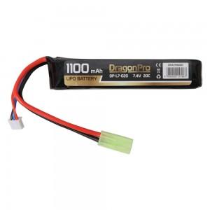DRAGONPRO DP-L7-020 7.4V 1100mAh 20C LiPO 103x21x13mm