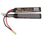 DRAGONPRO DP-L7-027 7.4V 1100mAh 20C LiPO (1+1) 103x20x6mm