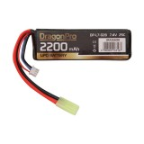 DRAGONPRO DP-L7-028 7.4V 2200mAh 25C LiPO 105x34.5x16mm