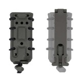 DRAGONPRO DP-PP001-016 45 ACP Polymer Mag Pouch (Molle) Wolf Grey