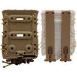 DRAGONPRO DP-PP007-003 7.62 Polymer Mag Pouch (Molle) Tan