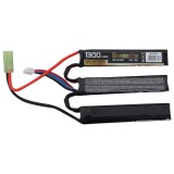 DRAGONPRO DP-L11-027 11.1V 1300mAh 15C LiPO (1+1+1) 95x20x7mm