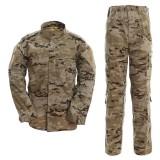 DRAGONPRO AU001 ACU Uniform Set Arido Pixelado Español L