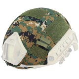 DRAGONPRO DP-HC001-009 Tactical Helmet Cover Woodland Digital
