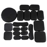 DRAGONPRO DP-HA003-002 EVA Pads Set Black