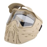 EMERSON GEAR EM6603E Full Face Protection Anti-Strike Mask Tan