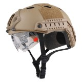 EMERSON GEAR EM8819A FAST Helmet/Protective Goggle PJ Type Tan