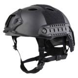 EMERSON GEAR EM5668L FAST Helmet PJ Type Premium Carbon Fiber Black