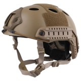 EMERSON GEAR EM5668M FAST Helmet PJ Type Premium Carbon Fiber Tan
