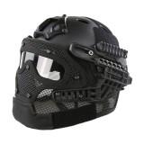 EMERSON GEAR EM9197 G4 PJ Helmet + Protective Full Mask Goggles BK