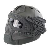 EMERSON GEAR EM9197C G4 PJ Helmet + Protective Full Mask Goggles FG