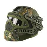 EMERSON GEAR EM9197D G4 PJ Helmet + Protective Full Mask Goggles WD