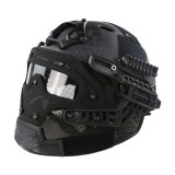 EMERSON GEAR EM9197G G4 PJ Helmet + Protective Full Mask Goggles TYP