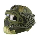 EMERSON GEAR EM9197I G4 PJ Helmet + Protective Full Mask Goggles ATFG