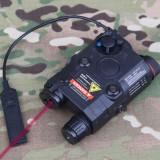 EMERSON GEAR EM9252 PEQ-15 Battery Case + Laser + Flashlight Black
