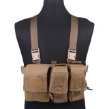 EMERSON GEAR EM7441 Light Weight Tactical Chest Rig Coyote Brown