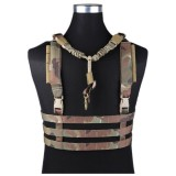 EMERSON GEAR EM7452 MOLLE System Low Profile Chest Rig MC