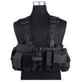 EMERSON GEAR EM7451F UW Gen V Split Front Chest Rig Black