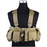 EMERSON GEAR EM7451G UW Gen V Split Front Chest Rig Khaki