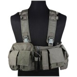 EMERSON GEAR EM7451H UW Gen V Split Front Chest Rig Foliage Green