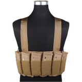 EMERSON GEAR EM2390A SPEED SCAR-H Chest Rig Coyote Brown