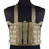 EMERSON GEAR EM7445A MP7 Tactical Chest Rig Khaki