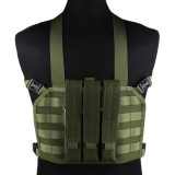EMERSON GEAR EM7445C MP7 Tactical Chest Rig OD