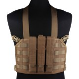 EMERSON GEAR EM7445D MP7 Tactical Chest Rig Coyote Brown