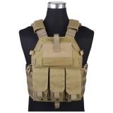 EMERSON GEAR EM7356A 094K M4 Pouch Type Tactical Vest Khaki