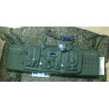 Funda Fusil doble 107cm Verde Delta Tactics