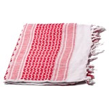 G&G Arab Scarf (White & Red) / G-21-003