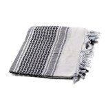 G&G Arab Scarf (White & Black) / G-21-005