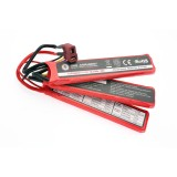 G&G G-Power 11.1V 1100 mAh (Three-piece) - Deans Plug / G-11-063