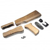 G&G AK47 Wood Stock Set for AK Series (Marui Only) / G-05-031