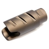 G&G Amplifier Flash Hider 14mm CCW Tan (G-02-100-1)