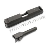 G&G Metal Slide & Outer Barrel For KSC USP Compact Black / G-02-065