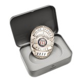 G&G Metro Police Badge with Gift Box / G-07-003