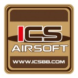ICS MS-51 ICS Airsoft Patch 80x80mm Tan