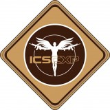 ICS MS-53 ICS CXP Patch 80x80mm Tan