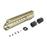 ICS MA-378 YAK Keymod Handguard 10'' TAN